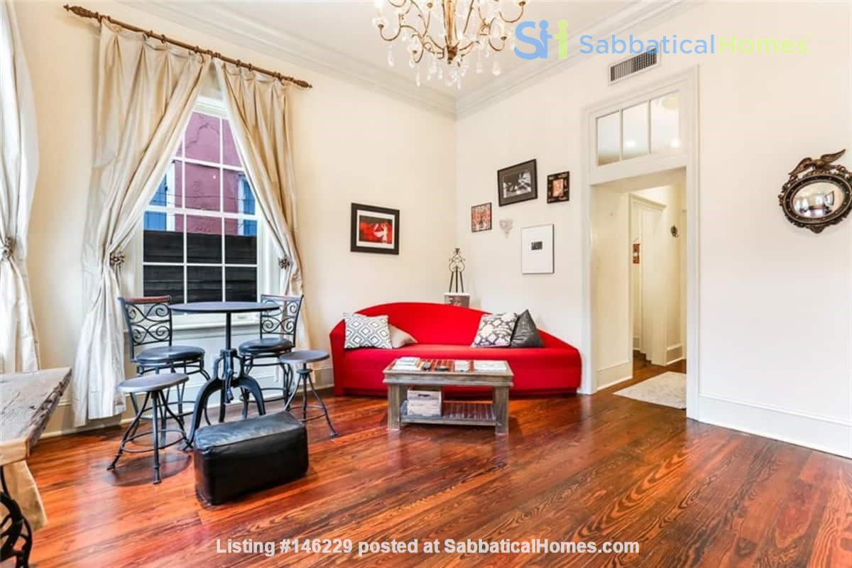 Elegant furnished 1-bedroom condo in French Quarter Home Rental in New Orleans 0