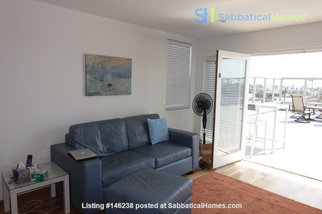 2BR Furnished Condo w/ Ocean View in Santa Monica, Walk to Beach, Transit Home Rental in Santa Monica 5