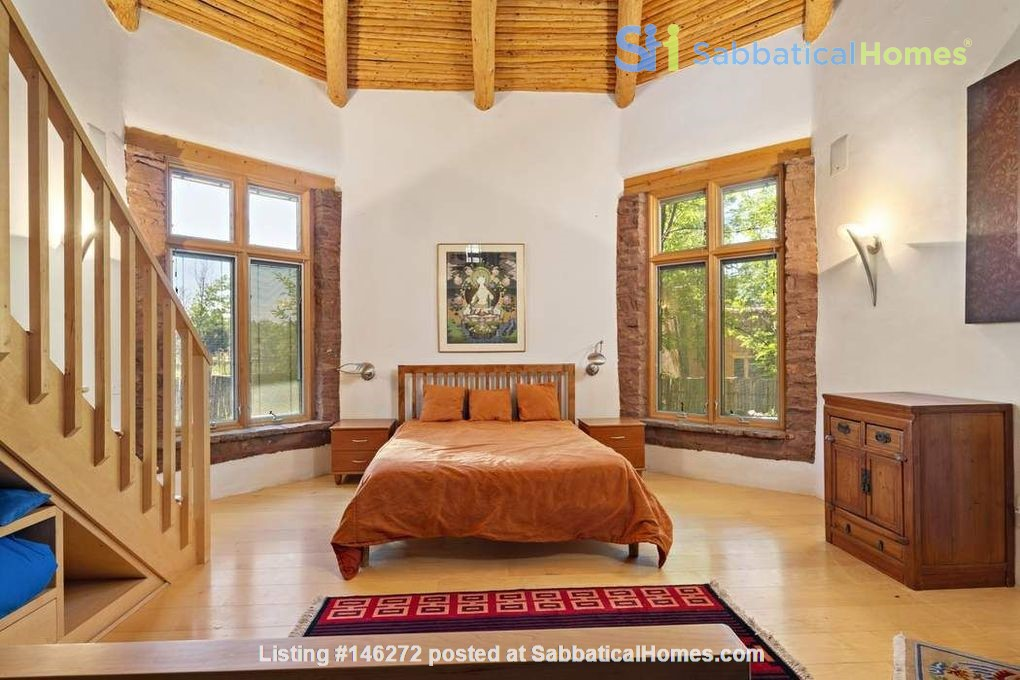 QUIET, BEAUTIFUL SECLUDED Santa Fe HOME 2BR on estate - sweeping views Home Rental in Santa Fe 5