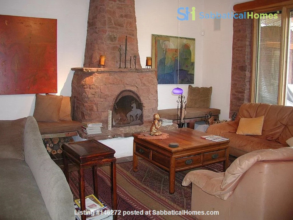 QUIET, BEAUTIFUL SECLUDED Santa Fe HOME 2BR on estate - sweeping views Home Rental in Santa Fe 7