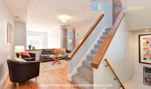 Spacious Capitol Hill Rowhouse with Large Outdoor Space and Parking Home Rental in Washington 1
