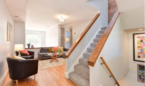 Spacious Capitol Hill Rowhouse with Large Outdoor Space and Parking Home Rental in Washington 1 - thumbnail