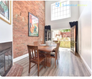 Spacious Capitol Hill Rowhouse with Large Outdoor Space and Parking Home Rental in Washington 4