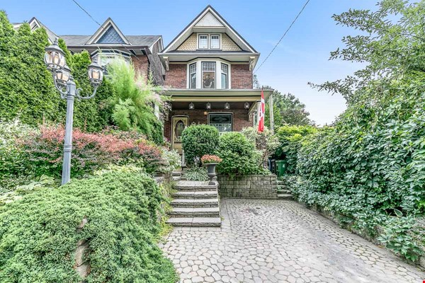 Leslieville 2 Upper Levels 2 beds in Sunny Edwardian Home w/Private Terrace Home Rental in Toronto 0 - thumbnail