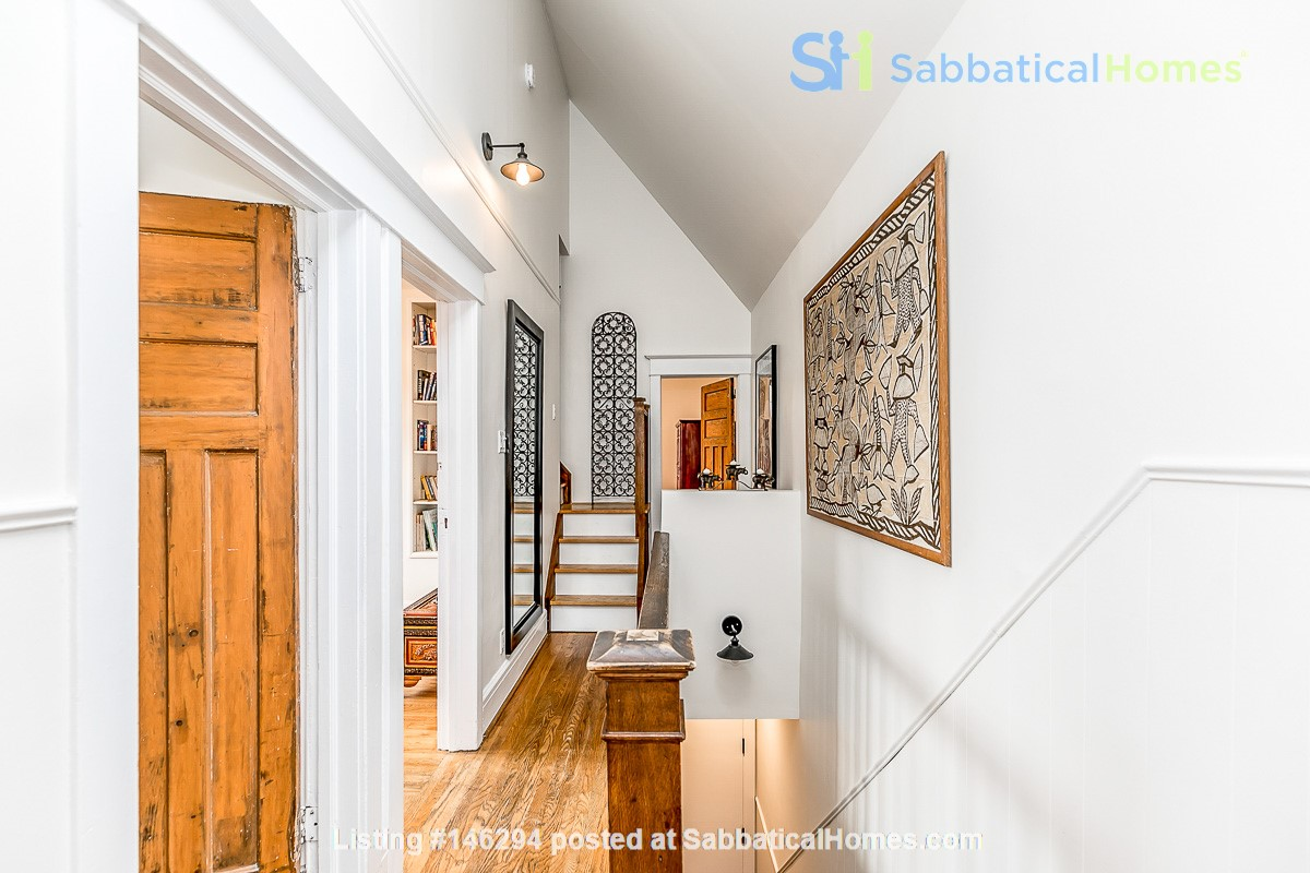 Leslieville 2 Upper Levels 2 beds in Sunny Edwardian Home w/Private Terrace Home Rental in Toronto 1