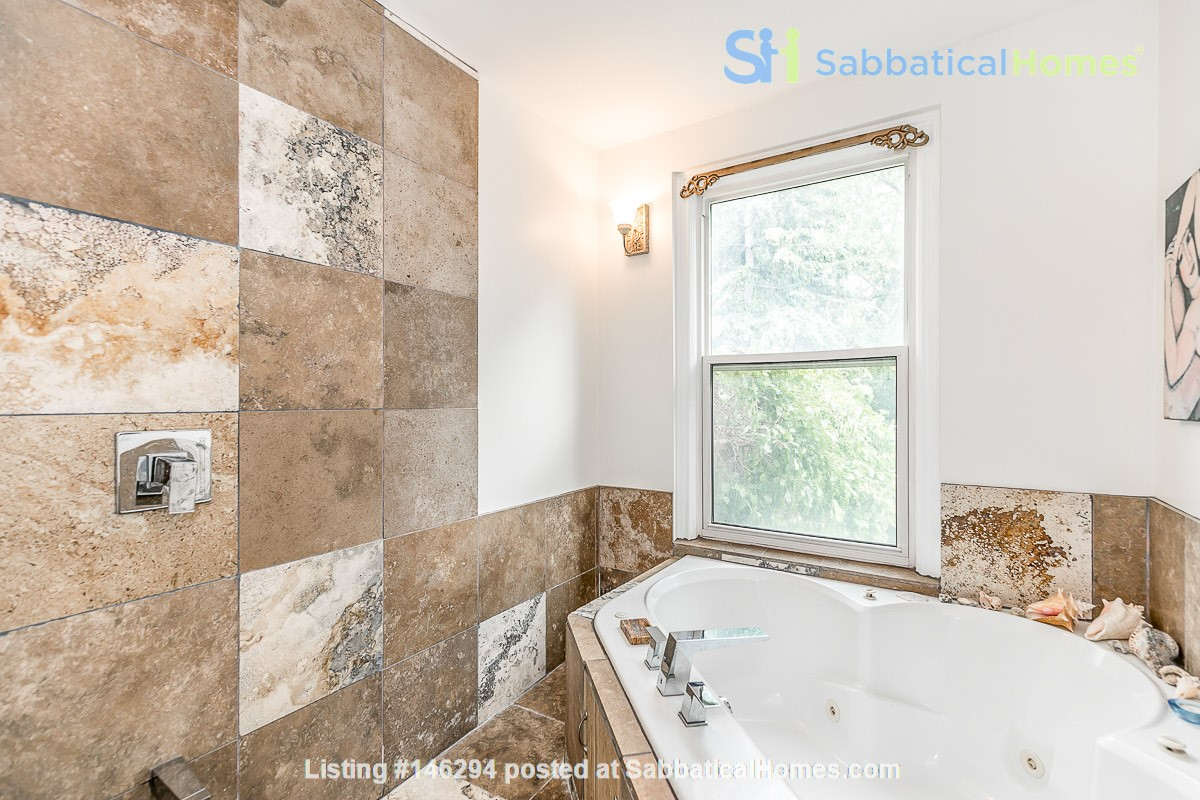 Leslieville 2 Upper Levels 2 beds in Sunny Edwardian Home w/Private Terrace Home Rental in Toronto 5