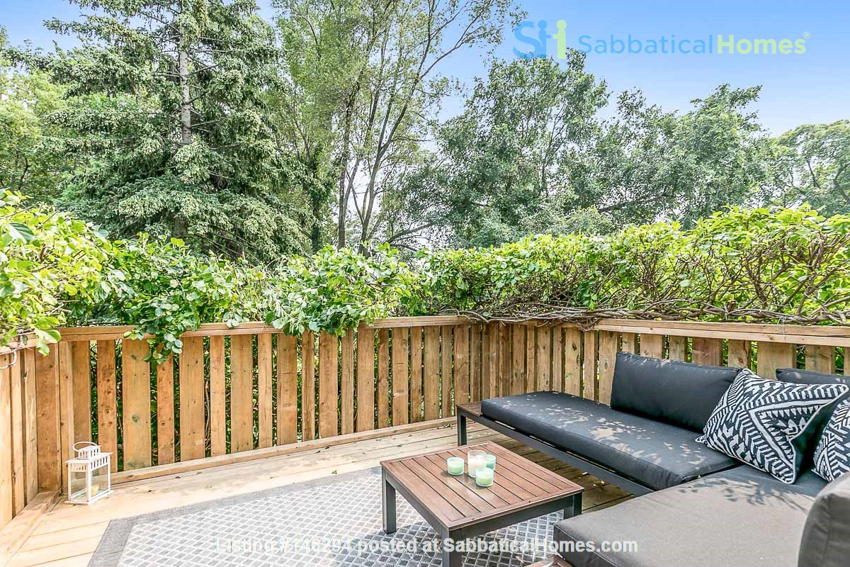 Leslieville 2 Upper Levels 2 beds in Sunny Edwardian Home w/Private Terrace Home Rental in Toronto 9
