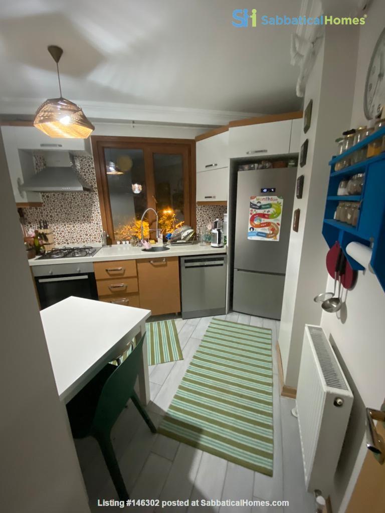 Serene Apartment Duplex in Üsküdar (Fully Furnished) Home Rental in  9